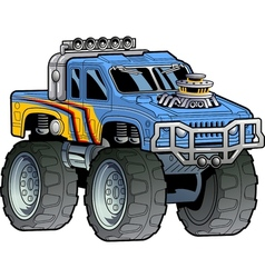 Monster Truck vector image