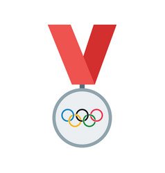 olympics medal vector image