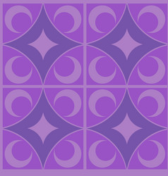 purple carpet seamless pattern vector image