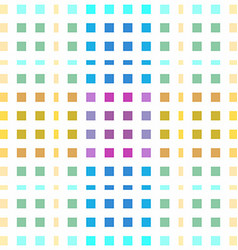 Seamless colored pattern made of little squares vector