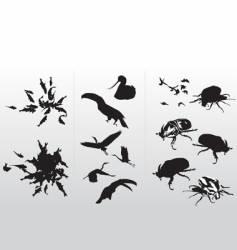 silo animal vector image