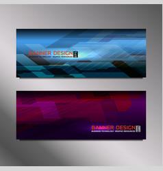 web banner elegant vector image