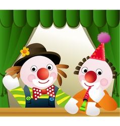 Clowns vector image vector image