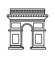 Arch triumph vector