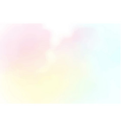 beautiful cotton candy sky watercolor background vector image
