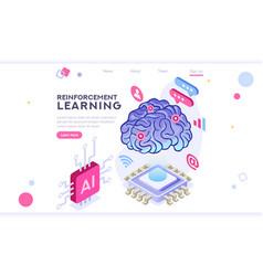 Brain artificial intelligence vector