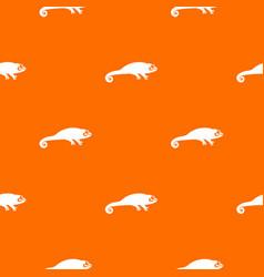 chameleon pattern seamless vector image vector image