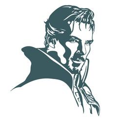 Dr strange avengers marvel vector