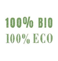 Ecology nature design vector