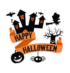 Happy halloween poster happy halloween poster vector
