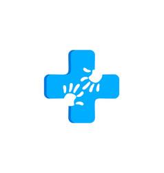 medical clinic kids logo vector image