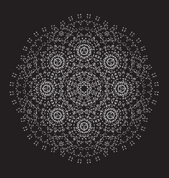 ornamental design sacred vector image