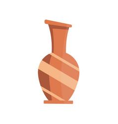 vase flat icon vector image
