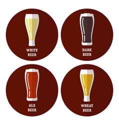 Beer Set vector image