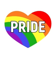 gay pride LGBT rights card vector image vector image