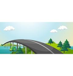 Bridge Connecting vector