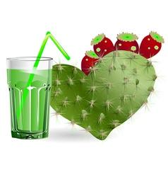 Cactus juice vector
