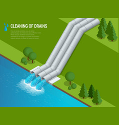Cleaning of drains cleaning of drains discharge of vector