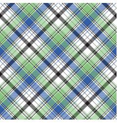diagonal check plaid texture seamless pattern vector image