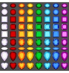 Gemstones vector