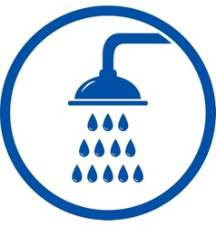 shower head icon vector image