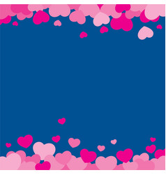 valentine background design vector image