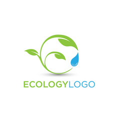 ecology symbol vector image