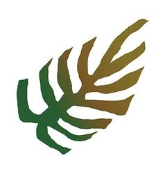 Fan palm vector