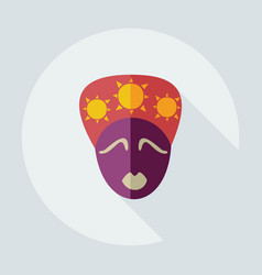 Flat modern design with shadow icons australian vector