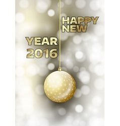 New Year 2016 vector image