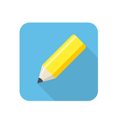 pencil stylish icon vector image
