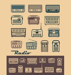 Radio receivers vector