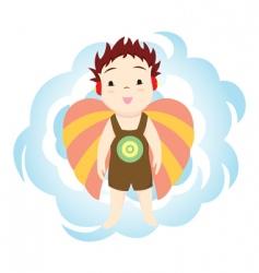 michael angel vector image vector image
