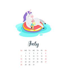 2019 year monthly calendar vector