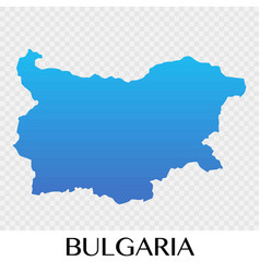 Bulgaria map in europe continent design vector