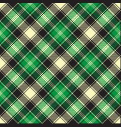 Green diagonal fabric texture tartan seamless vector