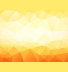 light orange geometric background vector image