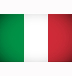 national flag italy vector image