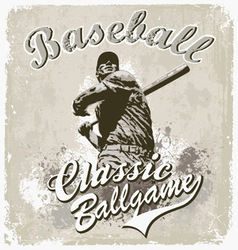 Baseball classic vector image vector image