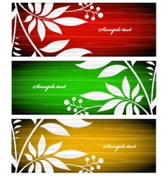 autumn greeting cards vector image vector image