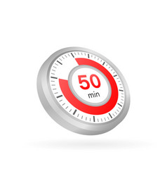 50 minutes stopwatch icon stopwatch vector
