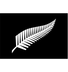 all blacks flag vector image