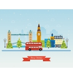 London United Kingdom icons travel concept vector image vector image