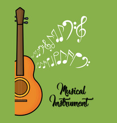 musical instruments design vector image