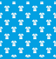 t-shirt i love lgbt pattern seamless blue vector image