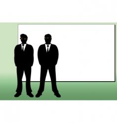 businessmen vector image vector image