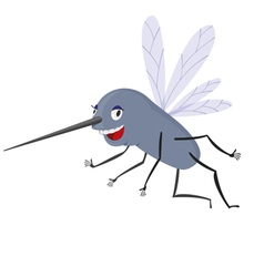 Funny Mosquito vector