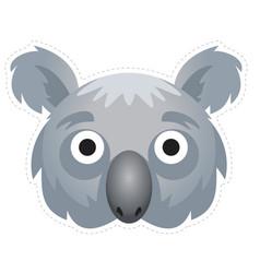 Koala mask vector