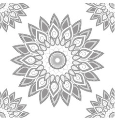 mandala colorful background vector image