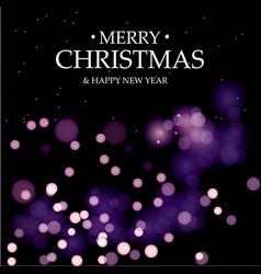 merry christmasmagic holidays vector image